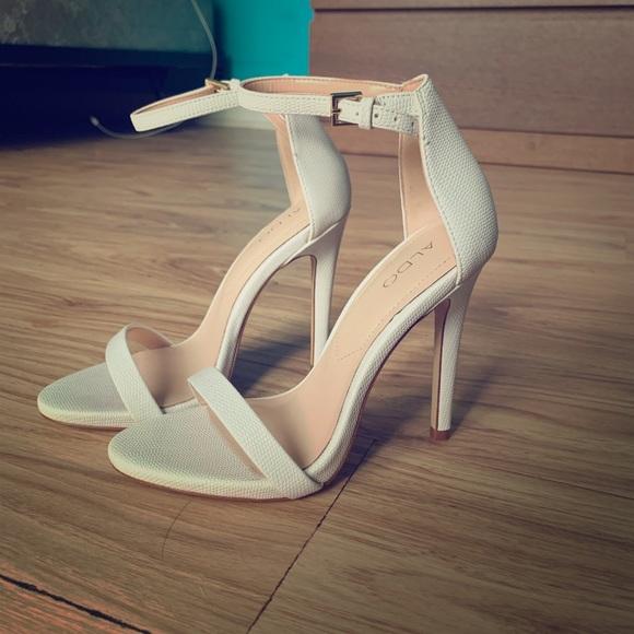 Aldo Shoes - Aldo White Heels